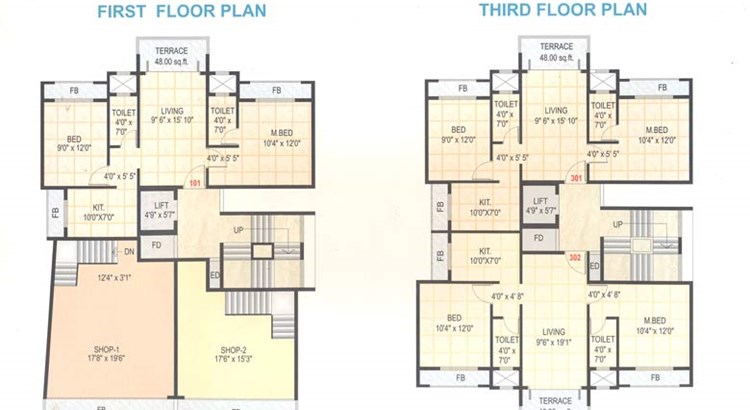Stuti Residency Floor Plan I