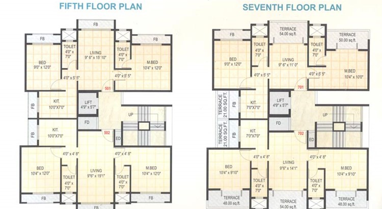 Stuti Residency Floor Plan III