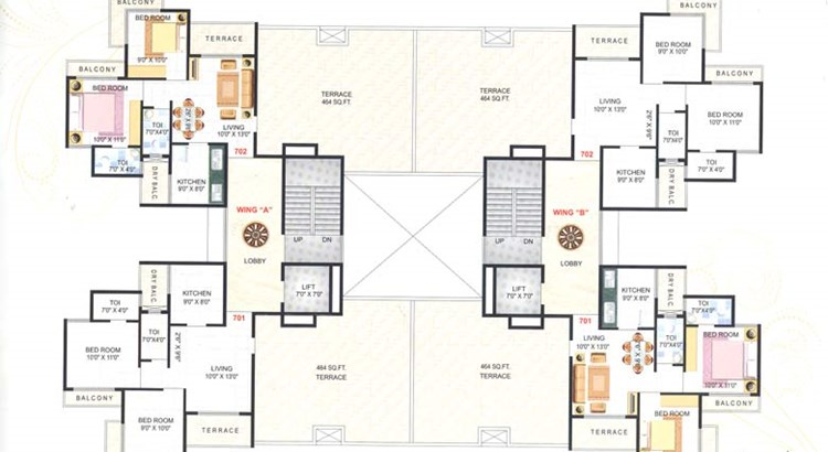 Utsav Floor Plan III