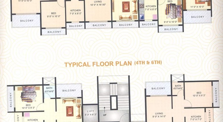 Matushree Apartment Floor Plan I