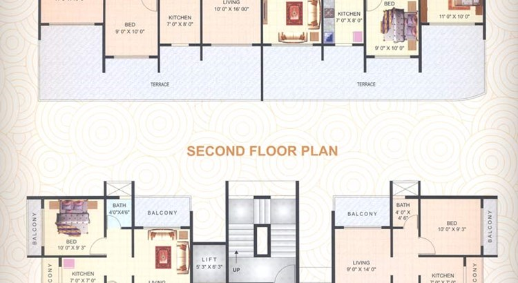 Matushree Apartment Floor Plan II