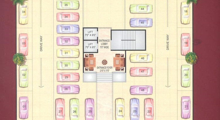 Green Park Floor Plan I