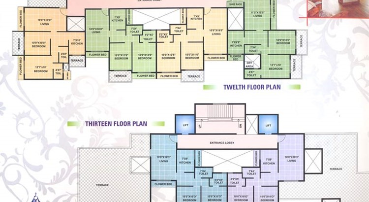 Ganga Tower Floor Plan III