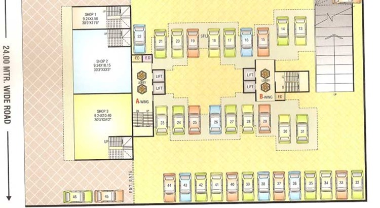 Sai Prasad Residency Floor Plan 5
