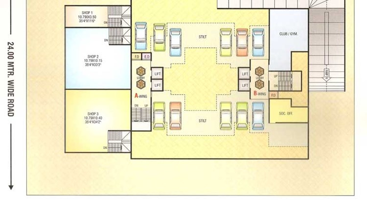 Sai Prasad Residency Floor Plan 7