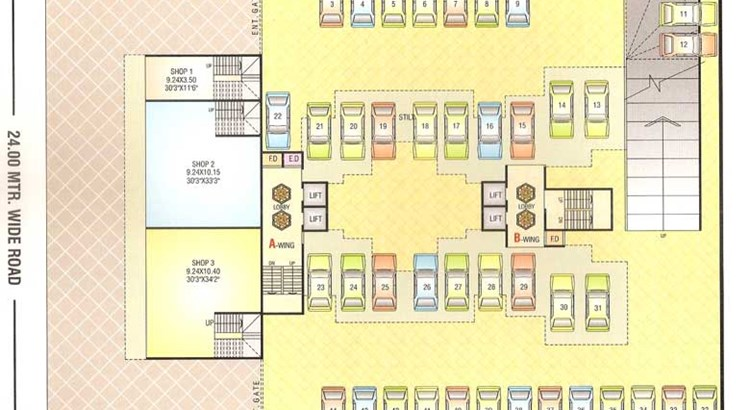 Sai Prasad Residency Floor Plan 8