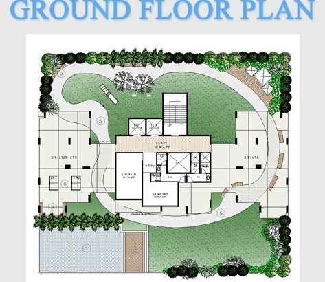 Balaji Heights Ground Floor Plan