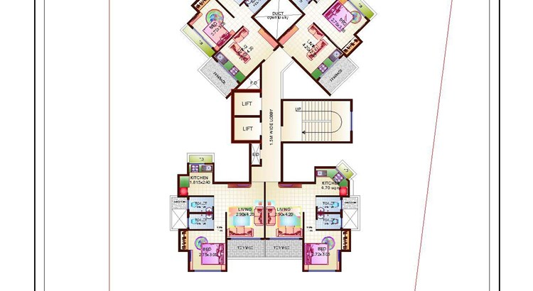Proviso Hill Park 10th Floor Plan
