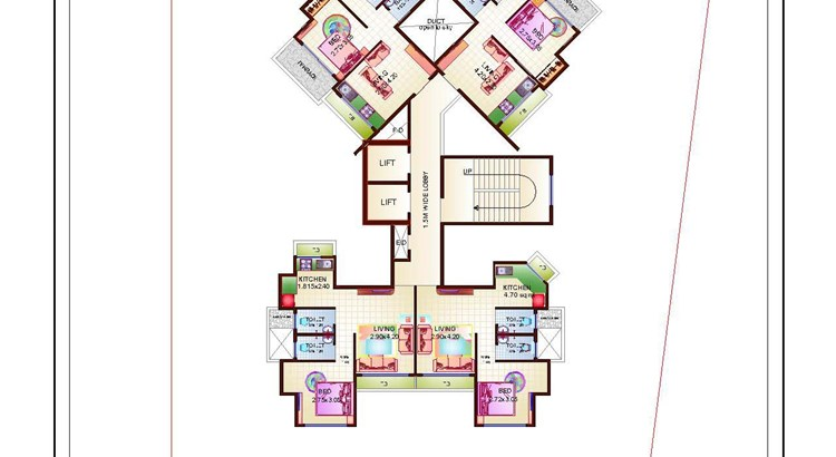 Proviso Hill Park 11th Floor Plan