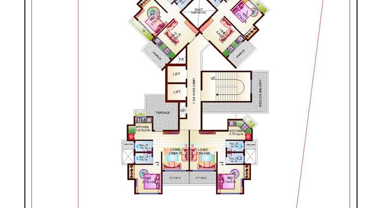 Proviso Hill Park 8th Floor Plan