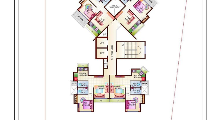Proviso Hill Park 9th Floor Plan