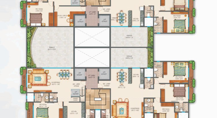 Zephyr Typical Floor Plan
