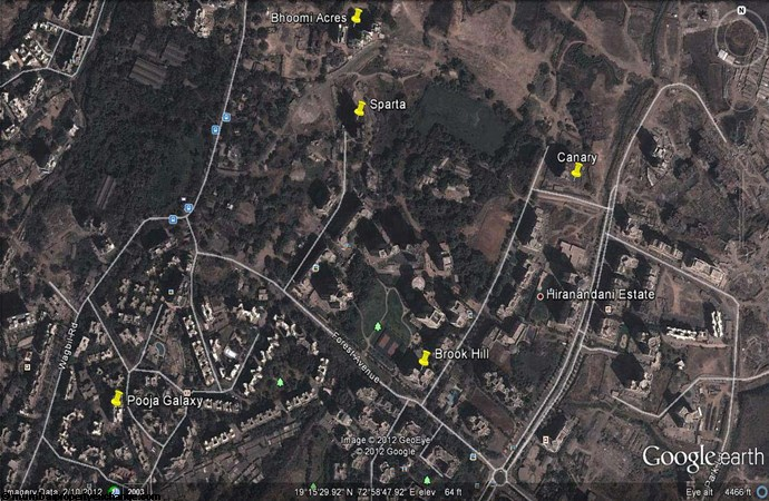 Sparta Google Earth