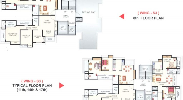 Imperial Heights Floor Plan I