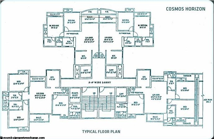 Cosmos Horizon Floor Plan I