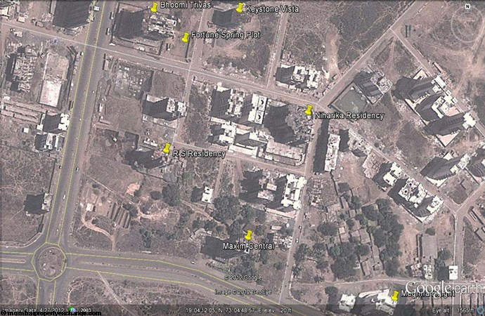 Niharika Residency Google Earth