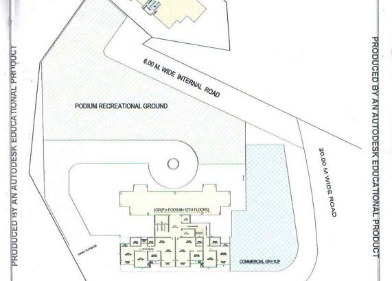 Raj Residency Layout