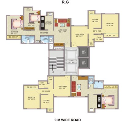 Puranik Hometown Floor Plan I