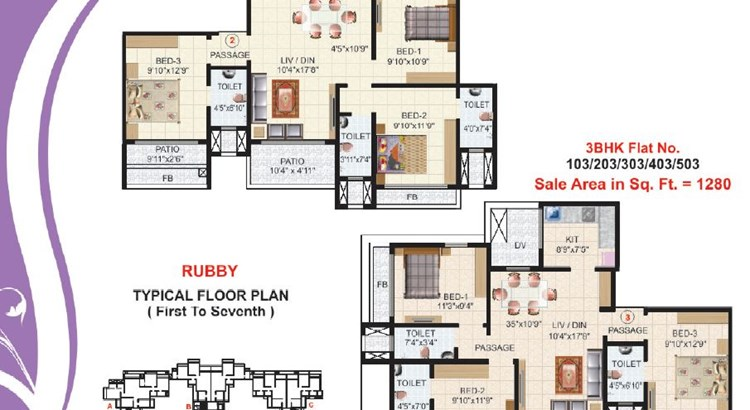 Victor Heights Floor Plan I