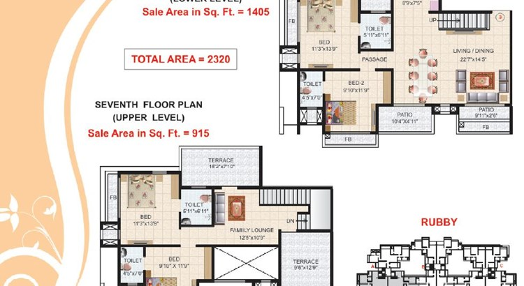 Victor Heights Floor Plan III