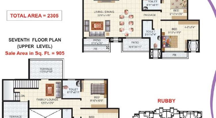 Victor Heights Floor Plan II