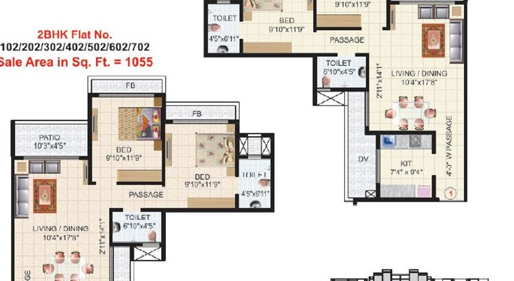 Victor Heights Floor Plan IV