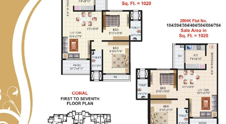 Victor Heights Floor Plan V