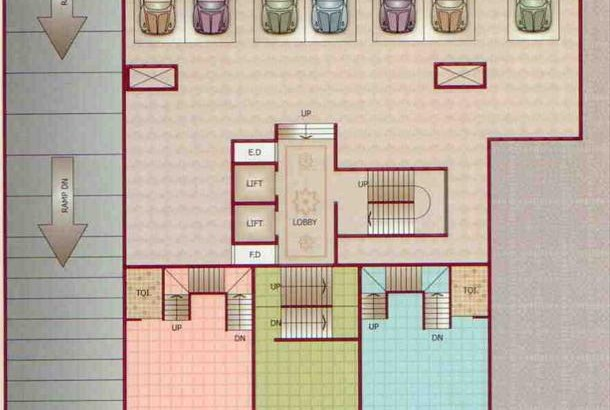 Mount Blanc Floor Plan I