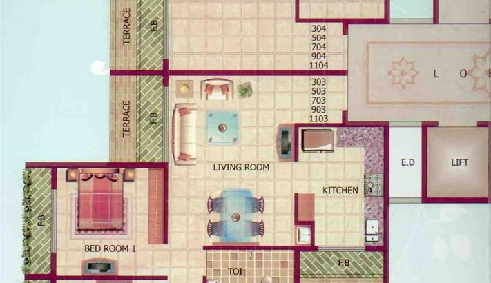 Mount Blanc Floor Plan III
