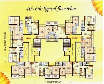 Parth Avenue Floor Plan