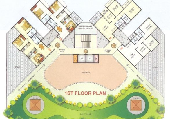 Gurudev Heights Floor Plan