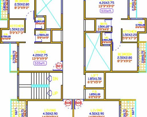 Shiv Prakash Residency Floor Plan 1