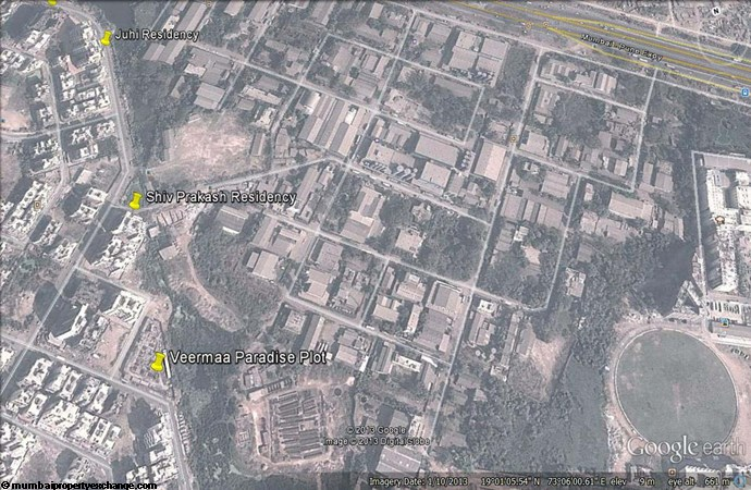 Shiv Prakash Residency Google Earth