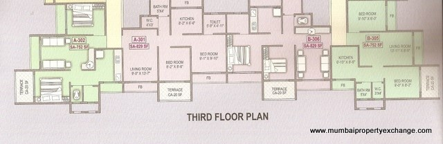 Vishwa Highlands Floor Plan 1