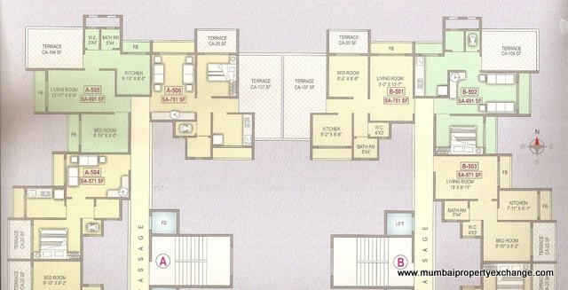 Vishwa Highlands Floor Plan 7
