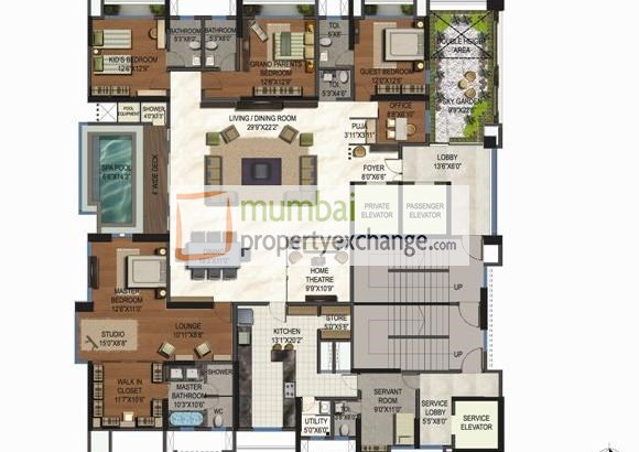 Lodha Aristo Floor Plan I