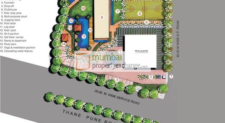 Lodha Aristo Lay out Plan