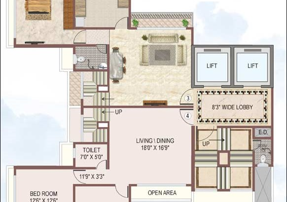 Reyhaan Terraces Floor Plan 3