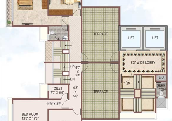 Reyhaan Terraces Floor Plan 4