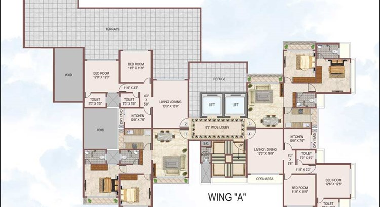 Reyhaan Terraces Floor Plan 6