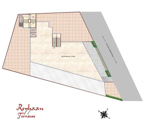 Reyhaan Terraces Ground Plan