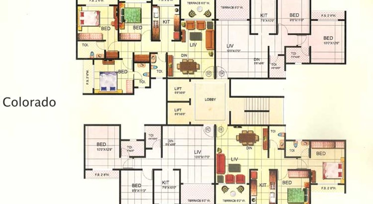 Riverdale Floor Plan 2