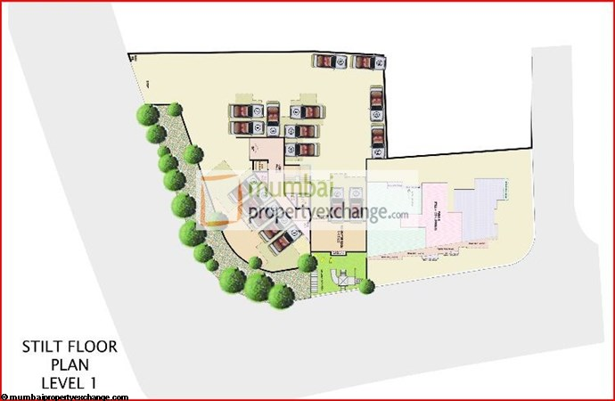 4810 Heights Stilt Level Floor Plan