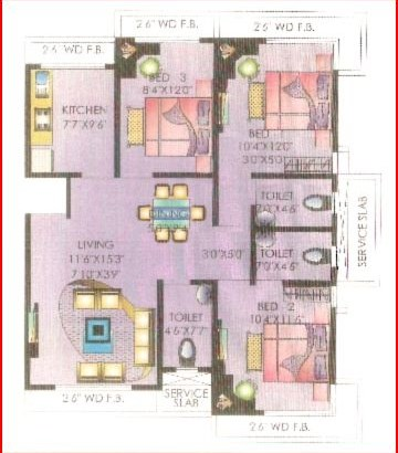 Gem CHS Floor Plan II
