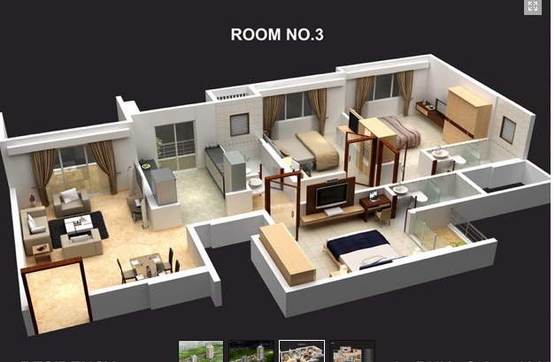 The Residency Floor layout
