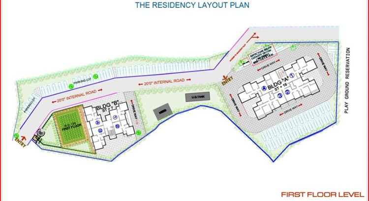 The Residency Layout