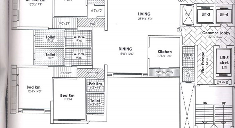 Shikhar Floor Plan I