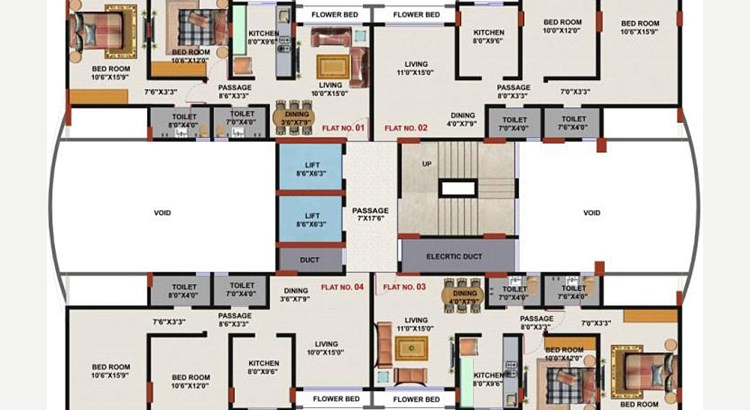 Harmony Wing B Floor Plan
