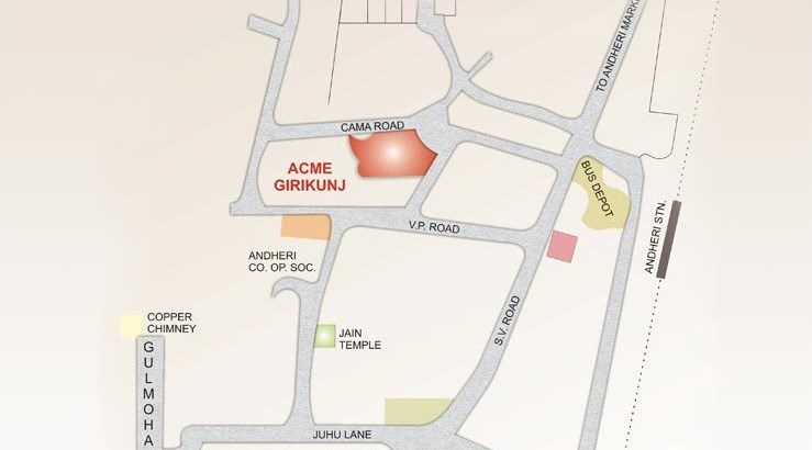 Acme Akshay Girikunj location map