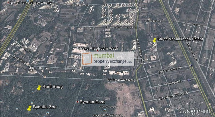 Shree Mohankheda Heights Google Earth